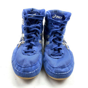 Asics Shoes - Asics Matflex Mens US Blue Wrestling MMA Training
